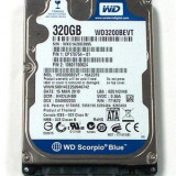Vand hard disk pt. laptop WD3200BEVT 320GB - HDD laptop Western Digital, 300-499 GB, Rotatii: 5400, SATA, 8 MB