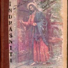 1915 INDRASNITI - CALENDAR ZILNIC CRESTIN 366 pagini, coperti carton, format mic, Alta editura