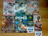 Reviste PS3 (playstation 3) + blu-ray + dvd PLAY