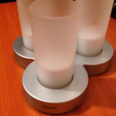 Lumanari electronic PHILIPS IMAGEO, 3 bucati - Lumanare parfumata