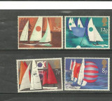 ANGLIA 1975 - SPORTURI NAUTICE SAILING, YACHTING, serie nestampilata, R25, Sport, Nestampilat