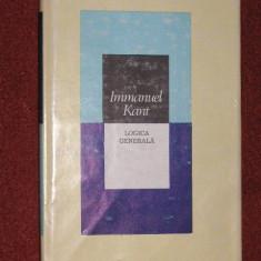 Logica generala - Immanuel Kant - Filosofie