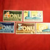 Serie 20 Ani ONU 1965 TOGO, 5 val.stamp. - Timbre straine