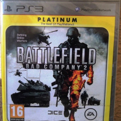 Joc Battlefield Bad Company 2, PS3, original si sigilat alte sute de jocuri!, Shooting, 16+, Single player, Electronic Arts