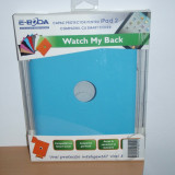 Apple iPad 2 , 3 , 4  - Capac protector E-Boda Watch my Back ( compatibil Smart Cover ) , nou sigilat !