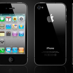 Apple iPhone 4 32gb, Negru, Orange