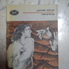 Nerantula Panait Istrati - Carte de aventura