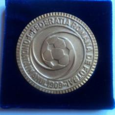 Medalie-placheta Federatia Romana de Fotbal