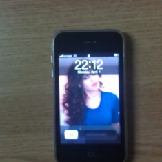 Vand iPhone 3 8GB neverlocked - iPhone 3G Apple, Negru, Neblocat