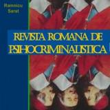 REVISTA ROMANA DE PSIHOCRIMINALISTICA - Carte Psihologie