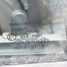 Geam usa stanga spate Dacia Logan - Geamuri auto, LOGAN (LS) - [2004 - 2012]