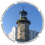 Insigne Farul Genovez - Constanta -- 44mm sau 56mm -- (PERSONALIZATE)