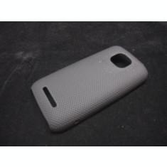 husa protectie mesh neagra Nokia Asha 311 silicon rigid antiradiatii + folie protectie ecran