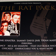 THE RAT PACK ( Frank Sinatra / Dean Martin / Sammy Davis jr.) - BEST OF / Dublu C.D. - Muzica Chillout