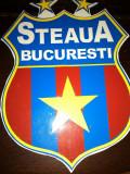 STEAUA BUCURESTI FCSB MAGNET FRIGIDER 9,5/7 CM FOTBAL LIGA I SPORT GHENCEA STEAU