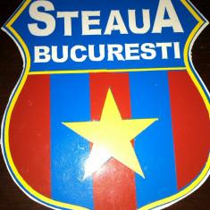 STEAUA BUCURESTI FCSB MAGNET FRIGIDER 9, 5/7 CM FOTBAL LIGA I SPORT GHENCEA STEAU
