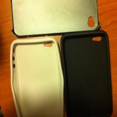 Husa iPhone 4 de aluminiu+silicon ArtWizz - Husa Telefon Apple
