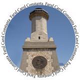 Insigne Farul Carol - Constanta -- 44mm sau 56mm -- (PERSONALIZATE)