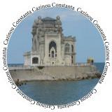 Insigne Cazinou - Constanta -- 44mm sau 56mm -- (PERSONALIZATE)