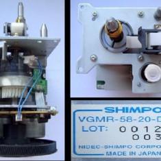 Motor DC VGMR-58-20-D cu reductor, ambreaj electromagnetic si modul de comanda