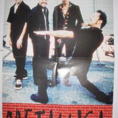 Afis / Poster metallica - Revista Popcorn