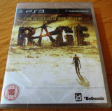 Joc Rage, PS3, original si sigilat, alte sute de jocuri!, Actiune, 18+, Single player, Bethesda Softworks