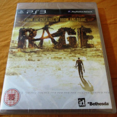 Joc Rage, PS3, original si sigilat, alte sute de jocuri! - Jocuri PS3 Bethesda Softworks, Shooting, 16+, Single player