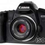 Pentacon Prakticar MC 50mm F2.4 pentru Canon EOS