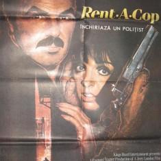 "Afis cinema "" RENT A COP ""  1987"