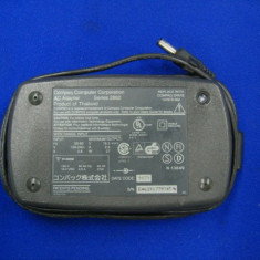 Vand ALIMENTATOR / INCARCATOR COMPAQ SERIES 2862 16.5V 2.6A 27W cu mufa neagra 147679-002 - Incarcator Laptop Compaq, Incarcator standard