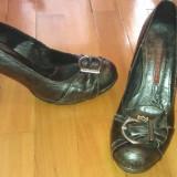 Pantofi comozi - Pantof dama, Culoare: Gri, Marime: 36
