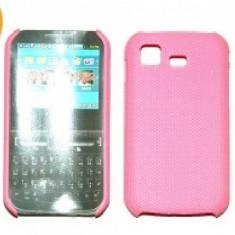 Husa protectie mesh roz Samsung C3222 Chat322 silicon rigid antiradiatii + folie protectie ecran - Husa Telefon