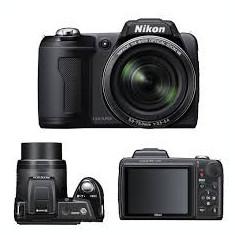 NIKON COOLPIX L110 - Aparat Foto compact Nikon, Compact, 12 Mpx, 14x, 3.0 inch