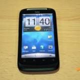 HTC Desire S Black (Cutie completa, 9, 5/10, functioneaza perfect, card 8gb, liber de retea) - Telefon mobil HTC Desire S, Negru, Neblocat