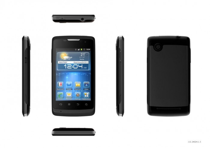 SMARTPHONE ZTE ICE NOU NOUT IN CUTIE,ANDROID 4.0.4 ,MEMORIE 4Gb foto mare