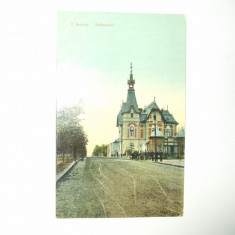 Carte postala Turnu Severin Bulevardul 1911