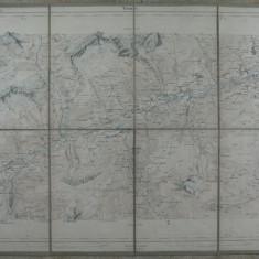 1 -HARTA VECHE MILITARA ELVETIANA 1881 - TIMBRU SEC DREAPTA JOS