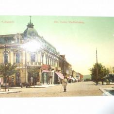 Carte postala Turnu Severin Strada Tudor Vladimirescu 1909