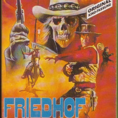 FRIEDHOF OHNE KREUZE - FILM WESTERN - CASETA VIDEO VHS ORIGINALA - Film actiune Altele, Altele