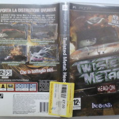 Twisted Metal: Head On (PSP) (ALVio) + sute de alte Jocuri PSP Sony originale ( vand schimb ), Actiune, 16+, Single player