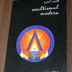 CYRIL SCOTT - OCULTISMUL MODERN. EDITIE LARGITA - Carte paranormal