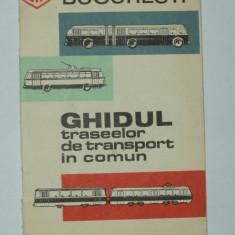 Ghidul traseelor de transport in comun - Intreprinderea de Transport Bucuresti ITB - ghid, autobuz, troleibuz, tramvai, taxi