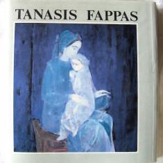 "Album ""TANASIS FAPPAS"", 1985. Text in 5 limbi. Carte noua, Alta editura"