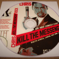 KILL THE MESSENGER - CHRIS ROCK / Stand Up Comedy HBO - DVD - Film comedie, Engleza