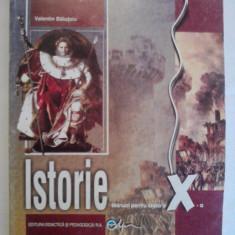 Manual de Istorie Clasa a X-a - Valentin Balutoiu - Manual scolar didactica si pedagogica, Clasa 10, Didactica si Pedagogica