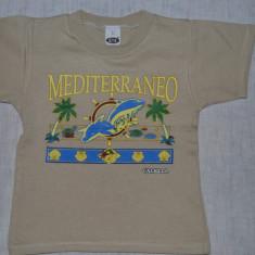 Tricou bej Mediteraneo