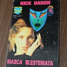 NICK BARON - MASCA BLESTEMATA. HORROR - Carte Horror