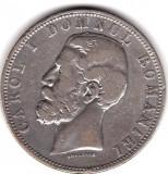 * Moneda 5 lei 1881 - Domn