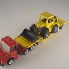 Siku SCANIA TRAILER+ INCARCATOR FRONTAL Scara 1:55 - Macheta auto