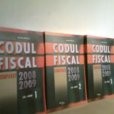 Codul Fiscal Comparat 2008-2009 (3 Volume) -(cod+norme) - NICOLAE MANDOIU (2009) - Carte despre fiscalitate